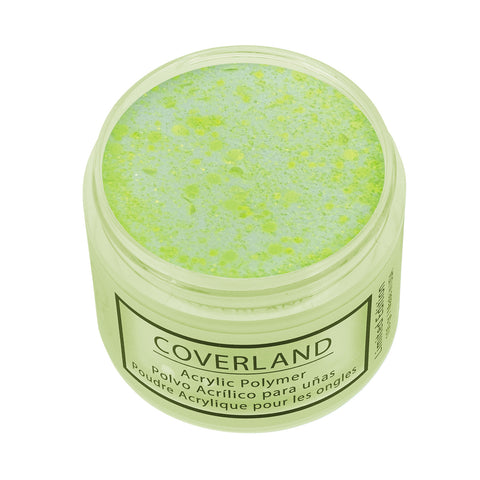 "Coverland Acrylic Powder 1.5 oz ""Electric Yellow"" Limited Edition 