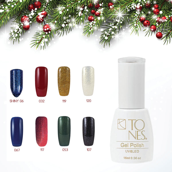"Gel Polish Kit #2 ""Christmas Colors""  / 16 ml / 0.56 fl oz"