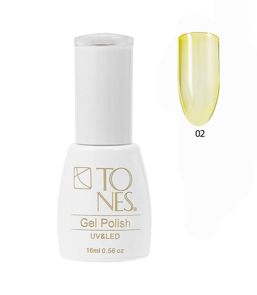 Glass Gel Polish # 02 / 16 ml / 0.56 fl oz | Gel de Color Glass # 02 / 16 ml / 0.56 fl oz