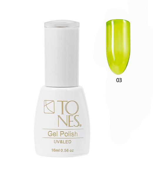 Glass Gel Polish # 03 / 16 ml / 0.56 fl oz | Gel de Color Glass # 03 / 16 ml / 0.56 fl oz