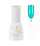 Glass Collection Gel Polish 16 ML / 0.56 Oz - Coleccion Gel de Color Transparente 16 ML / 0.56 Oz.