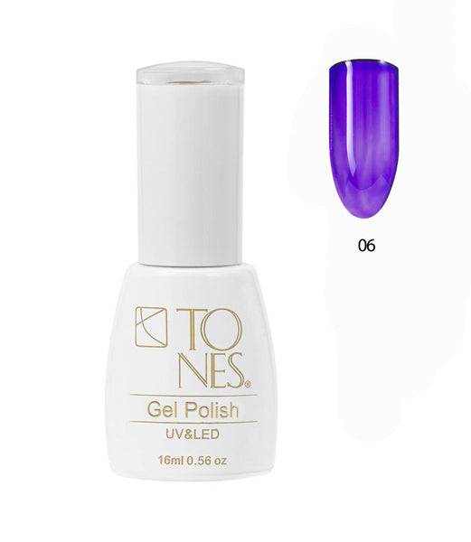 Glass Gel Polish # 06 / 16 ml / 0.56 fl oz | Gel de Color Glass # 06 / 16 ml / 0.56 fl oz