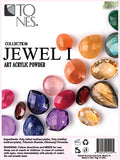 Acrylic Art Powder Collection: Jewel I | Colección de Polvos para Arte: Jewel I - Tones - 2