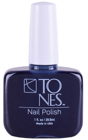Nail Polish - Midnight Blue: 29.5 ml / 1 fl oz | Esmalte de Uñas - Midnight Blue: 29.5 ml / 1 fl oz - Tones