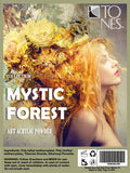 Acrylic Art Powder Collection: Mystic Forest | Colección de Polvos para Arte: Mystic Forest - Tones - 2