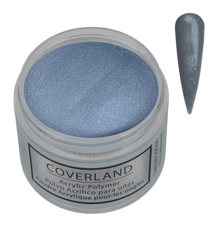 "Coverland Acrylic Powder 1.5 oz ""Melted Metal"" Limited Edition 