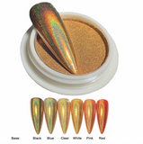Holographic Chrome Effect - Gold 1 gram