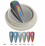 Holographic Chrome Effect - Silver 1 gram