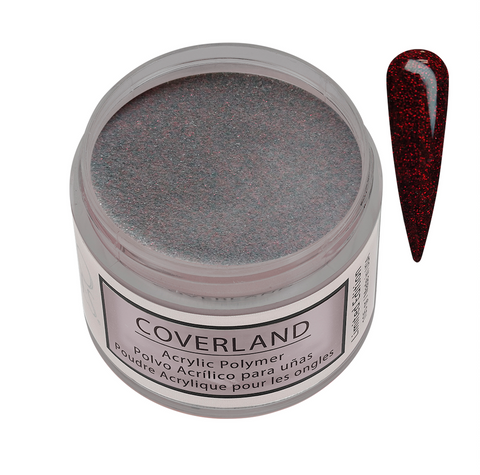 "Coverland Acrylic Powder 1.5 oz ""Love Potion"" Limited Edition 