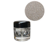 0.4mm Micro Stainless Steel Beads Mini Caviar 10 grams - Silver