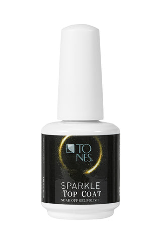 Sparkle Gel Polish Top Coat (Gold) - 16 ml / 0.56 fl oz |