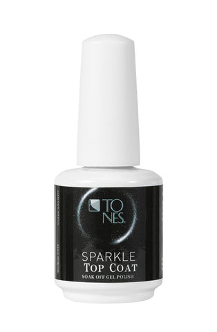 Sparkle Gel Polish Top Coat (Silver) - 16 ml / 0.56 fl oz |