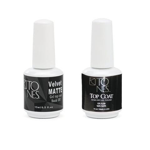 Top Coat & Velvet Matte Top Coat Kit