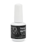 Gel Polish Rubber Velvet Matte Top Coat / 15 ml / 0.5 fl oz | Gel Rubber Velvet Matte Top Coat / 15 ml / 0.5 fl oz
