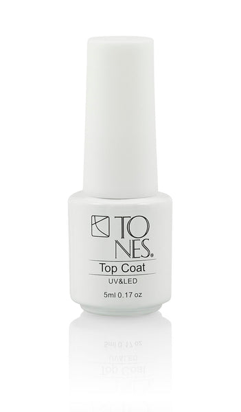 Sample Gel Polish Top Coat- 5 ml / 0.17 fl oz | Top Coat de Gel : 5 ml / 0.17 fl oz