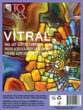 1/2 oz Individual Acrylic Art Powder Collection: Vitral | Colección de Polvos para Arte: Vitral