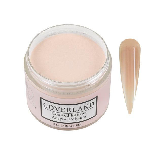 "Coverland Limited Edition Acrylic Powder 3.5 ""Creme"""