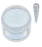"Coverland Acrylic Powder 1.5 oz ""Crushed Ice"" Limited Edition 