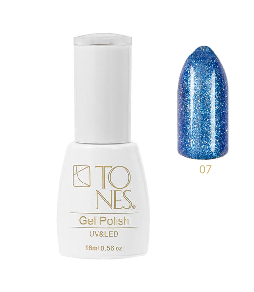 Shiny Diamond Gel # 007 / 16 ml / 0.56 fl oz | Gel de Color con Brillo # 007 / 16 ml / 0.56 fl oz
