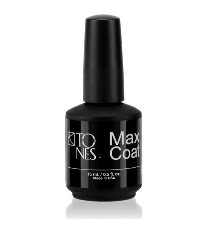 Max Top Coat: 15 ml / 0.5 fl oz | Brillo Sellador para Acrílico: 15 ml / 0.5 fl oz - Tones
