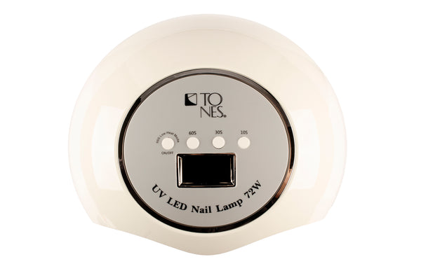 Tones LED/UV Nail Lamp 72 watts | Tones Lampara de LED/UV para Uñas 72 watts