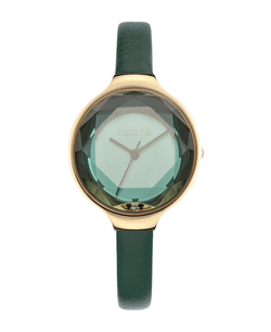 ladies gem cut watch