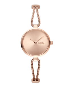 rose gold watch rumbatime