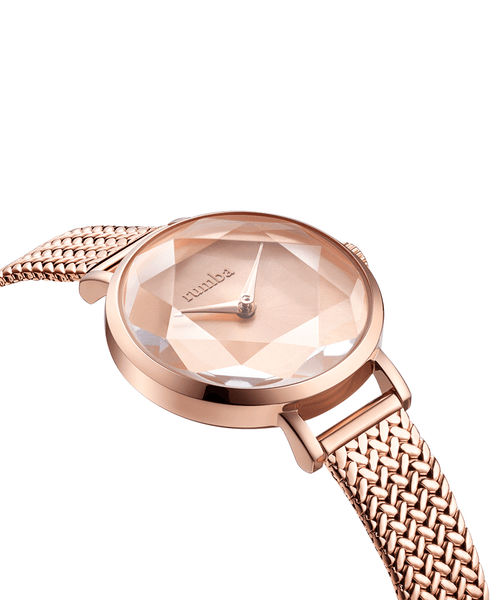 rose gold watches womens