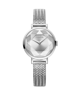 silver watch womens