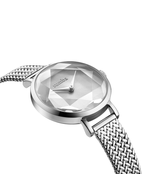 rumba watch silver