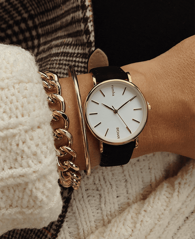 BYCHARI Watch & Cuff Set