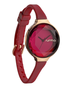 womens red watch