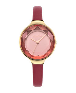 gem cut watch for women