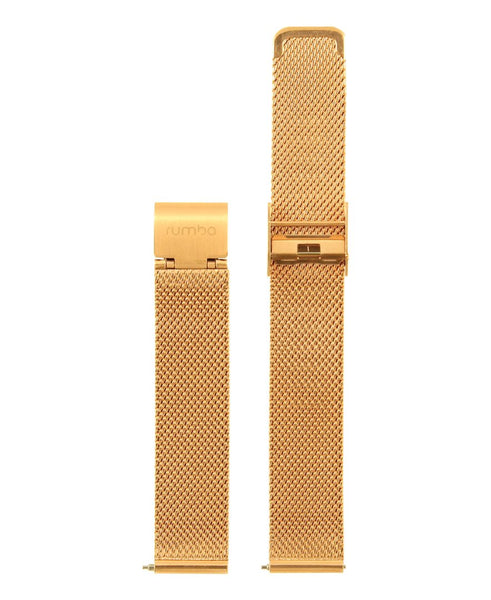 rose gold watch strap