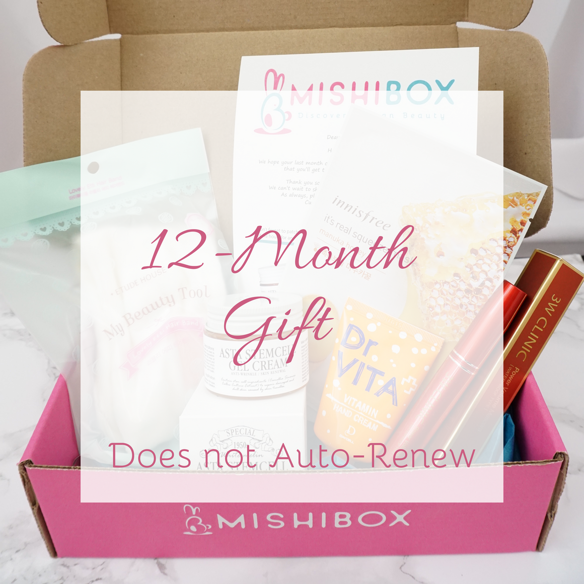 MISHIBOX GIFT Subscription - 12 Months - STARTS WITH MARCH BOX