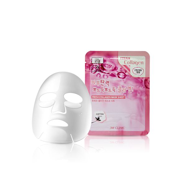 3W Clinic Fresh Mask Sheet - Collagen