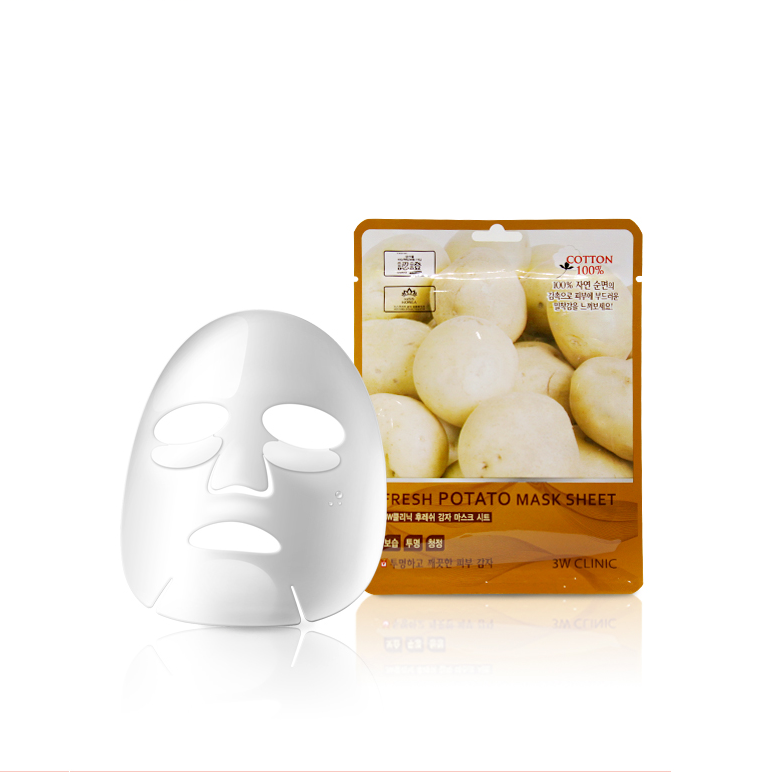 3W Clinic Fresh Mask Sheet - Potato