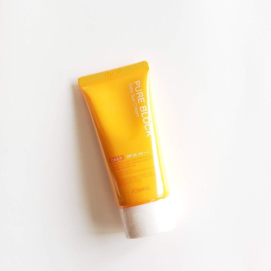 A'PIEU Pure Block Natural Daily Sun Cream