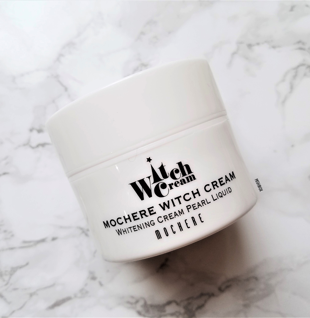 Aromame Mochere Witch Cream - Whitening Cream Pearl Liquid [EXP 02.04.2019]