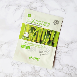 BLUMEI Jeju Watery Bamboo Mask Pack [EXP 08.30.2019]
