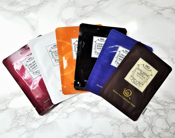 Chamos Acaci Mask Pack - Snail Repair Silk Mask Pack