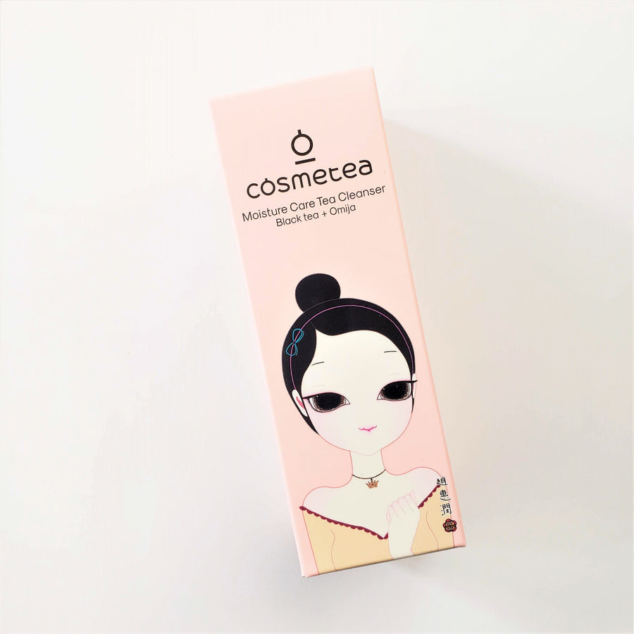 COSMETEA Moisture Care Tea Cleanser - Black Tea + Omija