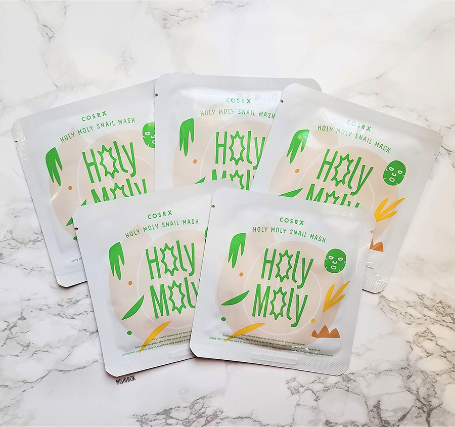 COSRX Holy Moly Snail Mask (5 PC Set)