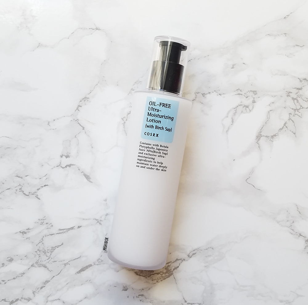 COSRX Oil Free Ultra Moisturizing Lotion (with Birch Sap) [EXP 02.07.2019]