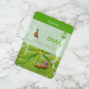 FARMSTAY Visible Difference Mask Sheet - Snail
