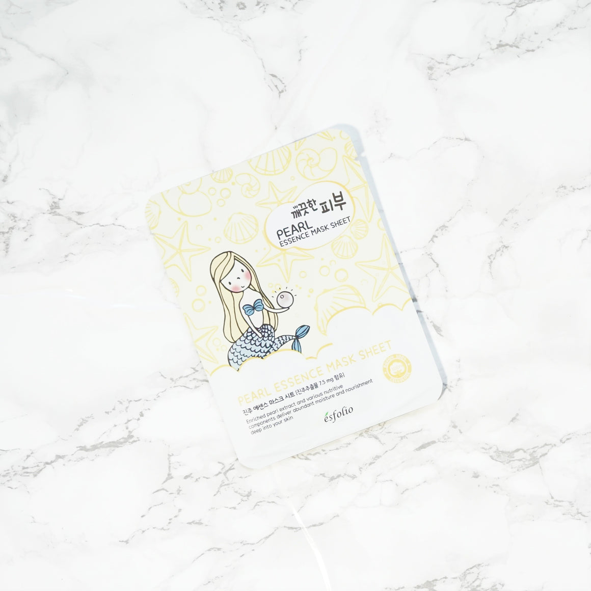 Esfolio PURE SKIN Essence Sheet Mask - Pearl