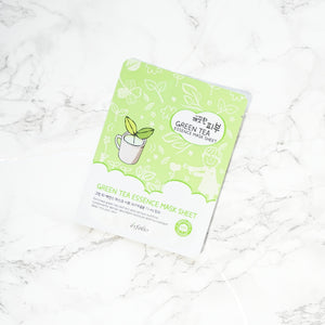Esfolio PURE SKIN Essence Sheet Mask - Green Tea