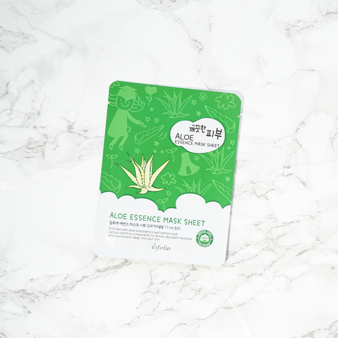 Esfolio PURE SKIN Essence Sheet Mask - Aloe