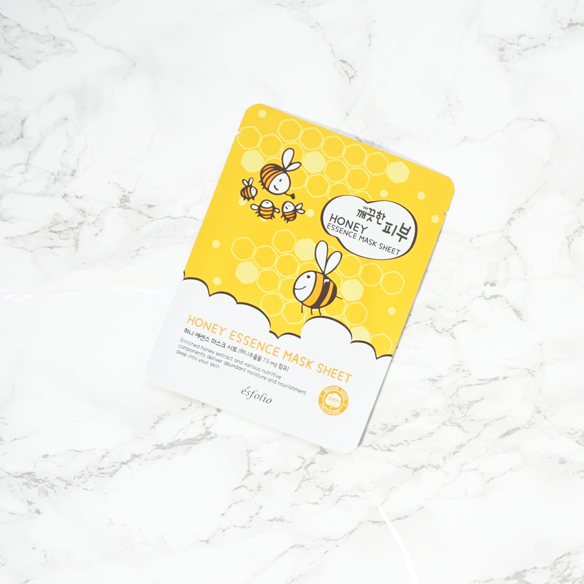 Esfolio PURE SKIN Essence Sheet Mask - Honey