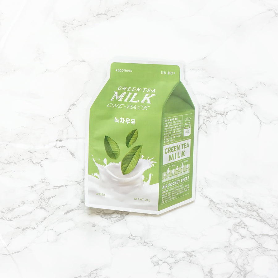 A'PIEU Milk One-Pack - Green Tea
